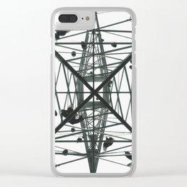 """A Vulture's Castle"" Clear iPhone Case"