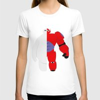 baymax T-shirts featuring BayMax by Brieana