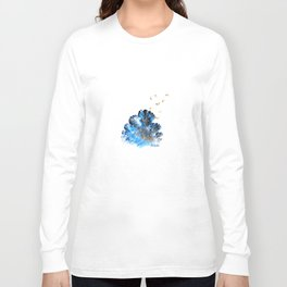 Blue coral melody  Long Sleeve T-shirt