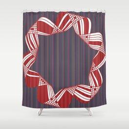 hélice motif 4 Shower Curtain