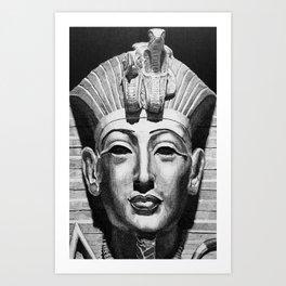 Egyptian Mask Art Print