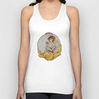 fullmetal alchemist Tank Tops featuring The Alchemist by TammyWitzens