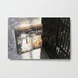 Old Jail Cell  Metal Print