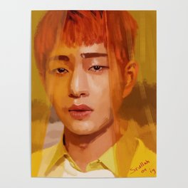 Onew Yellow Poster
