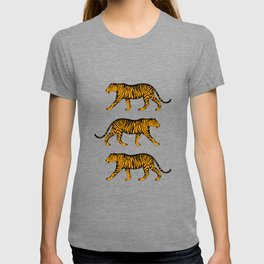 Tigers (Blue and Marigold) T-shirt