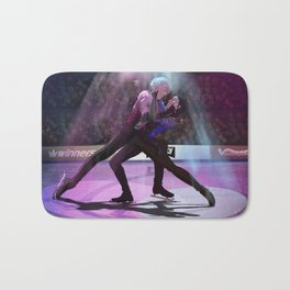 Yuri on ICE final skate Bath Mat