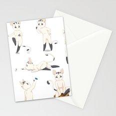 Thorodrin cat Stationery Cards