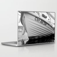 boat Laptop & iPad Skins featuring boat by habish