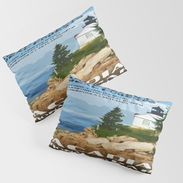 Vintage poster - Acadia National Park Pillow Sham