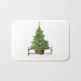 Christmas In The Country Bath Mat