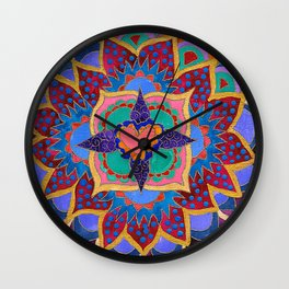Feral Heart #02 Wall Clock