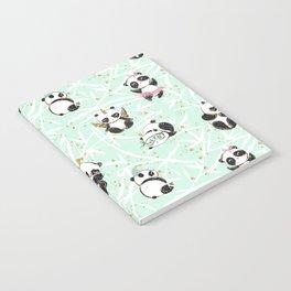 Panda Pattern 04 Notebook