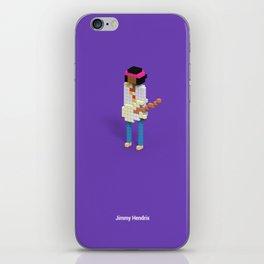 Voxel Hendrix iPhone Skin