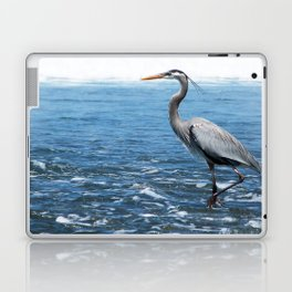 Great Blue Heron on the Pacific Coast in Costa Rica Laptop & iPad Skin