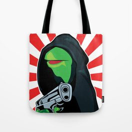 Gangster Kermit Tote Bag