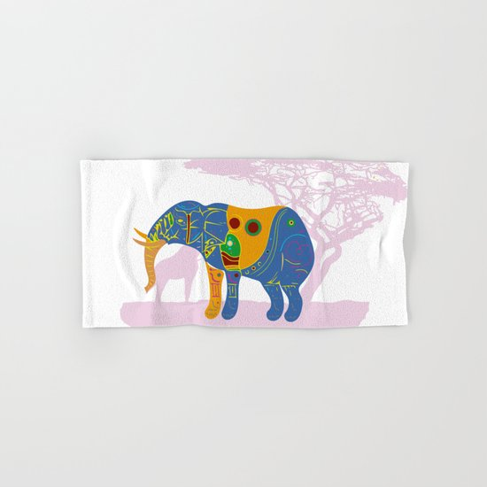 Africa's Rainbow Hand & Bath Towel