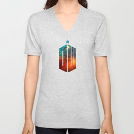 Doctor Who V Unisex V-Neck
