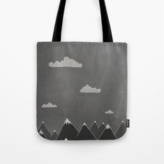 Chalkboard Winter Tote Bag