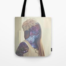 Galaxy Girl Tote Bag