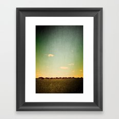 Of the Field Framed Art Print