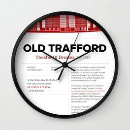 Old Trafford - History&Fact Wall Clock