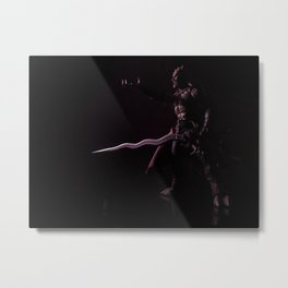 Kain in Shadow Metal Print