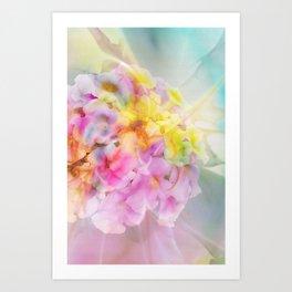 Hydrangea Fantasy Art Print