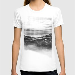 The Boat Black and White T-shirt