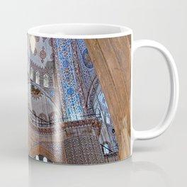 Blue Mosque Interior Ottoman Architecture, Istanbul, Turkey 2 Coffee Mug