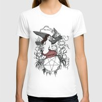 satan T-shirts featuring Satan Girl by Poison Tree Design