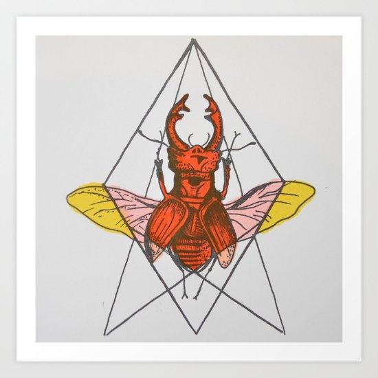 Fuerza Art Print