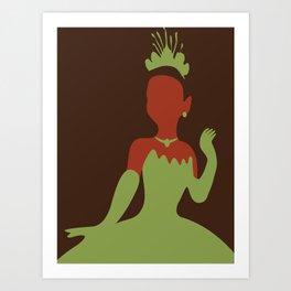 Tiana - Princess and the Frog Art Print