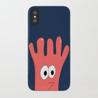 greg guillemin iPhone & iPod Cases featuring Monster Greg by Chelsea Herrick