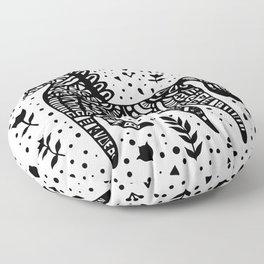 Little Black Pony Floor Pillow