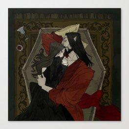 Vampire Lovers Canvas Print