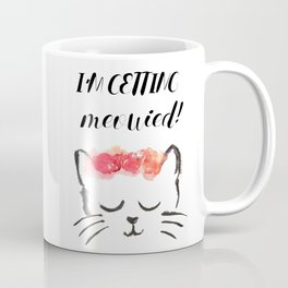Cat Wedding Coffee Mug