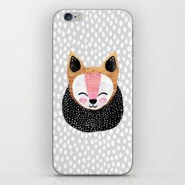 Little Arctic Fox iPhone Skin
