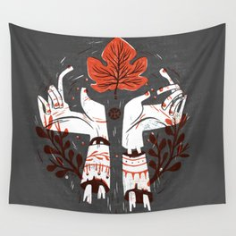 Symbol Hands Wall Tapestry