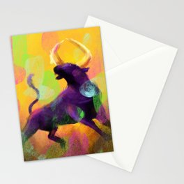 Ragging Bull Stationery Cards
