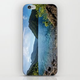 Lake Crescent Olympic Mountain Pano iPhone Skin