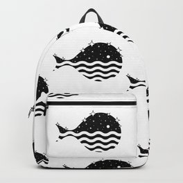 Night Life in the Ocean Backpack