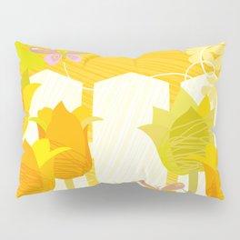 Sunny Spring Garden Pillow Sham