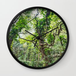 Jungle Vines Wall Clock