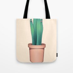 Cactuses Are Dangerous Tote Bag