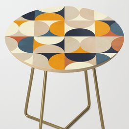 mid century abstract shapes fall winter 1 Side Table