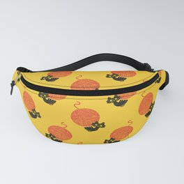 Fitz - Happiness (cat and yarn) Fanny Pack