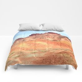 mineral mountain photography Comforters