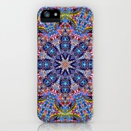 BBQSHOES: Kaleido-Fractal 1790 iPhone Case