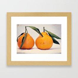 Clementines 6 Framed Art Print