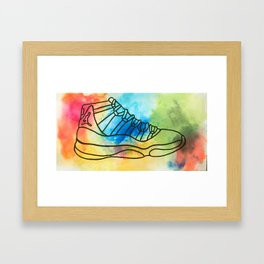 sneaker Framed Art Print